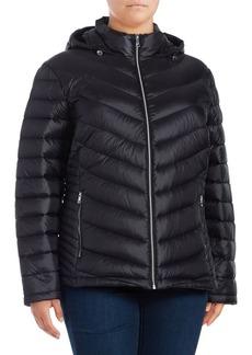 Calvin Klein Plus Packable Down Jacket