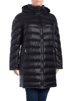 Calvin Klein Plus Packable Down Jacket