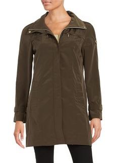CALVIN KLEIN PLUS Plus Packable Rain Coat
