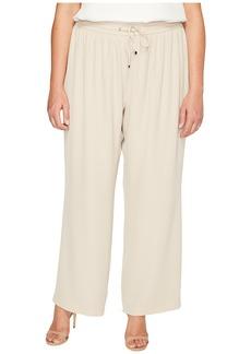 Calvin Klein Plus Plus Size Wide Leg Pull-On Pants