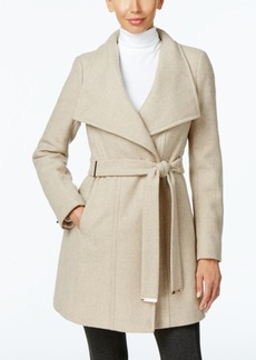 Calvin Klein Plus Size Belted Walker Coat