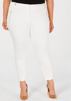 Calvin Klein Plus Size Cropped Skinny Pants