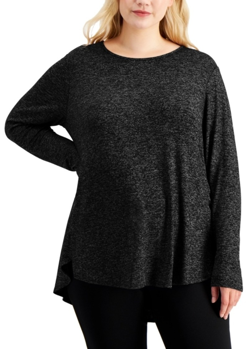Calvin Klein Plus Size Long-Sleeve Tunic