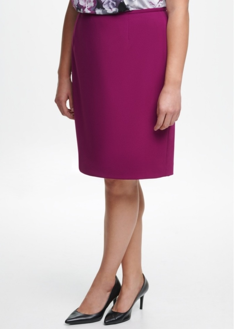 Calvin Klein Plus Size Pencil Skirt