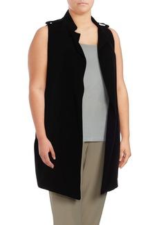 Calvin Klein Plus Plus Size Open Front Vest