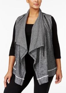 Calvin Klein Plus Size Shawl-Collar Vest