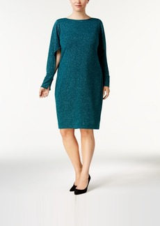 Calvin Klein Plus Size Split-Sleeve Dress