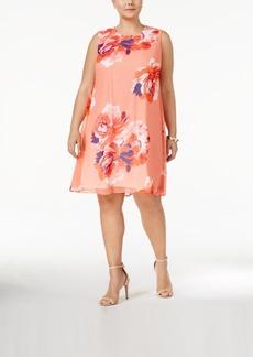 Calvin Klein Plus Size Trapeze Dress