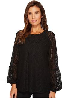Calvin Klein Poet Sleeve Lace Top
