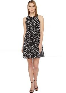 Calvin Klein Polka Dot Trapiz Dress