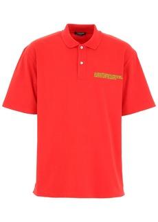 Calvin Klein Polo Shirt With Embroidered Logo