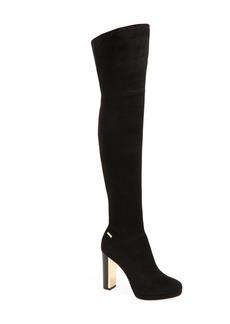 Calvin Klein 'Polomia' Platform Over the Knee Boot (Women)