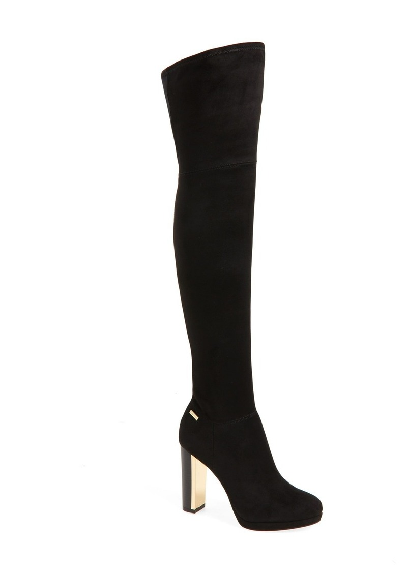 190c75b4311 Calvin Klein Calvin Klein  Polomia  Platform Over the Knee Boot ...
