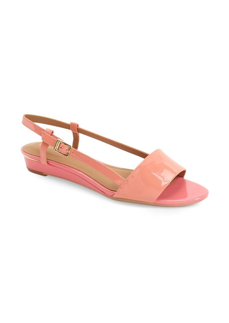 Calvin Klein 'Prima' Slingback Wedge Sandal (Women)