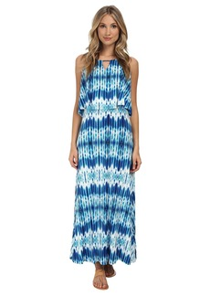 Calvin Klein Print Double Layer Maxi