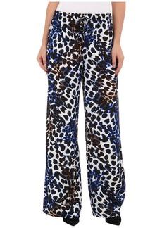 Calvin Klein Print Wide Leg Pant