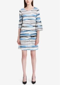 Calvin Klein Printed A-Line Dress