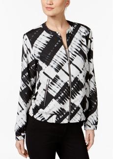 Calvin Klein Printed Bomber Jacket