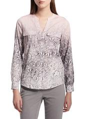 Calvin Klein Printed Button-Down Shirt
