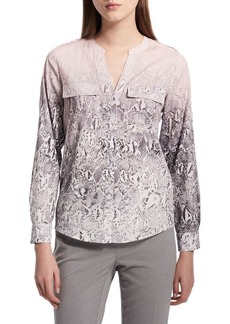 Calvin Klein Printed Button-Down Shirt
