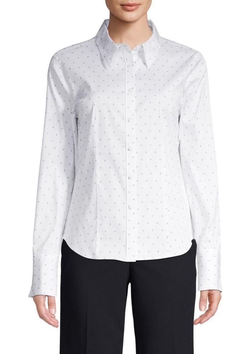 Calvin Klein Printed Cotton Shirt