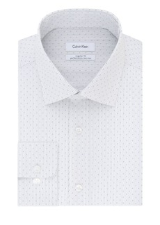 Calvin Klein Regular-Fit Printed Dress Shirt