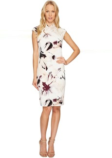 Calvin Klein Printed High Neck Dress