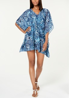 Calvin Klein Printed Kaftan Cover-Up Women's Swimsuit