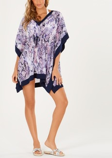 Calvin Klein Printed Kaftan Cover-Up Women's Swimsuit