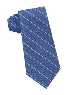 Calvin Klein Mini-Stripe Silk Tie
