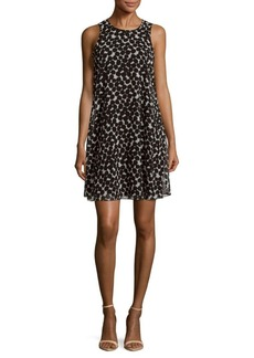 Calvin Klein Printed Sleeveless Dress