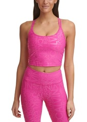 Calvin Klein Performance Printed Strappy-Back Tank Top