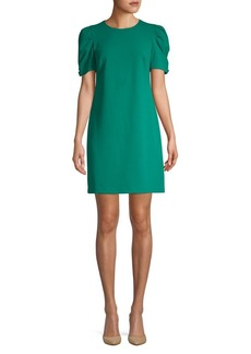 Calvin Klein Puffed-Sleeve Shift Dress