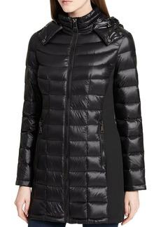 Calvin Klein Puffer Down Zip-Up Coat