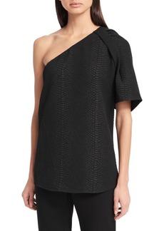 Calvin Klein Pullover Asymmetric Top