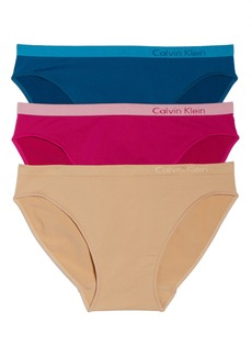 Calvin Klein 'Pure' Seamless Bikini (3-Pack)