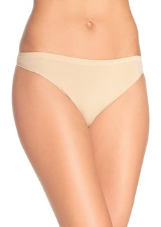 Calvin Klein 'Pure' Seamless Thong (3 for $33)
