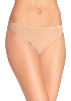 Calvin Klein 'Pure' Seamless Thong (3 for $33)