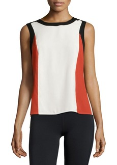 Calvin Klein Pysp Colorblock Sleeveless Top