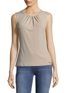 Calvin Klein Pysp Pleated Top