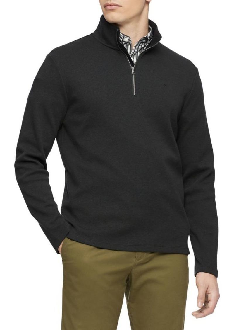 Calvin Klein Quarter-Zip Sweater