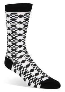 Calvin Klein Quilt-Patterned Socks