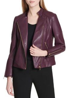 Calvin Klein Quilted Asymmetric Jacket