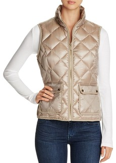 Calvin Klein Quilted Metallic Puffer Vest - 100% Bloomingdale's Exclusive