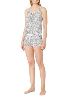 Calvin Klein Racerback Tank & Shorts Pajama Set