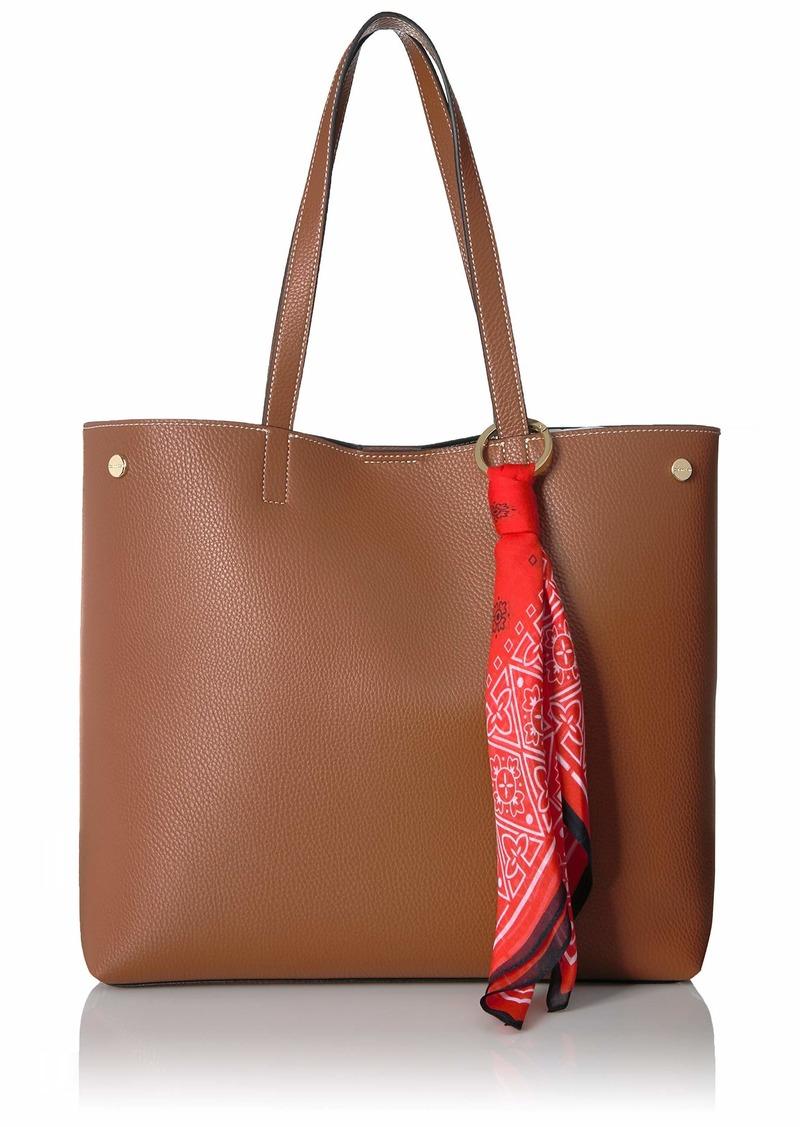 Calvin Klein Rachel Vegan Leather Novelty Tote luggage