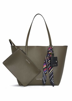 Calvin Klein Rachel Novelty East/West Tote
