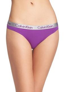 Calvin Klein 'Radiant' Cotton Thong (3 for $33)
