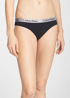 Calvin Klein 'Radiant' Cotton Thong (3 for $30)