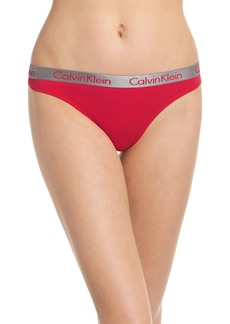 Calvin Klein 'Radiant' Cotton Thong